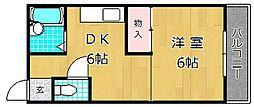 オリエント・リディム[2階]の間取り