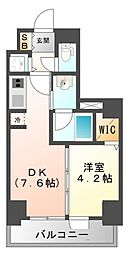 S-RESIDENCE江坂[8階]の間取り