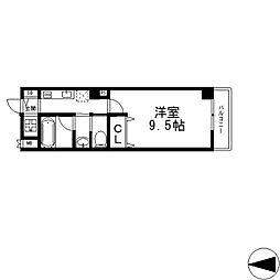 サイプレス小阪駅前[407号室号室]の間取り