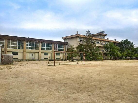 <渡利中学校>...