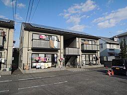 岡山県岡山市南区東畦の賃貸アパートの外観