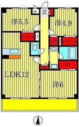 SAKURA AVENUE[4階]の間取り