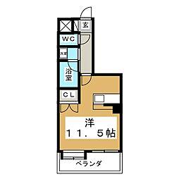 コージーコートひだまり館[5階]の間取り