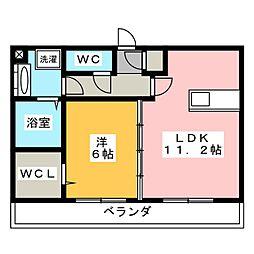 仮)D-room有東[3階]の間取り