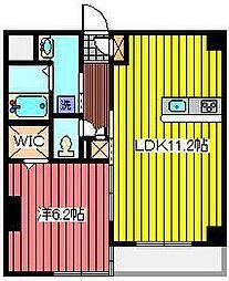 ルートホワイト3[3階]の間取り