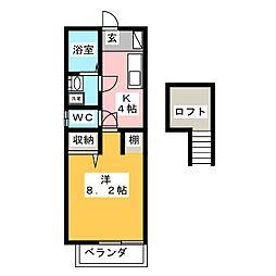 トップハウス寺家3[1階]の間取り