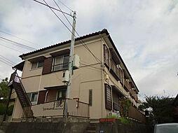 一里山コーポラス[101号室]の外観