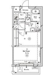 ラフィスタ練馬[1階]の間取り