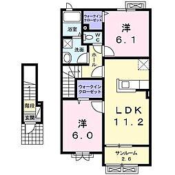 カンプ・ノウ[2階]の間取り