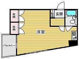 ライオンズマンション神戸花隈[4階]の間取り