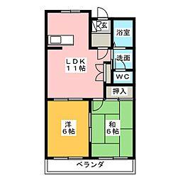 ロイヤルプライベートマンション[2階]の間取り
