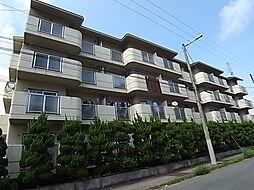 兵庫県姫路市飾磨区矢倉町2丁目の賃貸マンションの外観