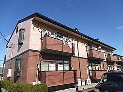愛知県あま市木田小兵衛前の賃貸アパートの外観