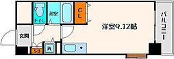 ビスタ江坂南[9階]の間取り