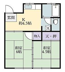 実籾駅 3.9万円