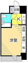 東京都国立市西1丁目の賃貸マンションの間取り