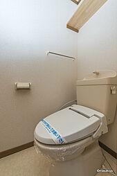 ソレーユ Eのトイレ ウォシュレット付き。