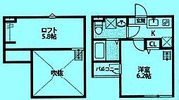 Crescent TAMA[1階]の間取り