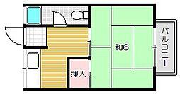 旭永ビル[4階]の間取り
