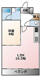 飯坂ビルマンション[3階]の間取り