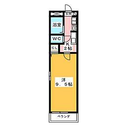 フローラK[2階]の間取り