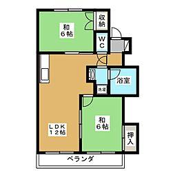 丹羽ビル[3階]の間取り