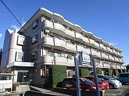 埼玉県狭山市狭山台4の賃貸マンションの外観