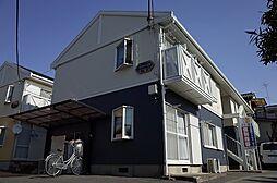 埼玉県志木市本町2丁目の賃貸アパートの外観