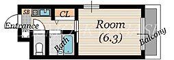 ガレットコート[2階]の間取り