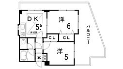 シーサーIV[3階]の間取り