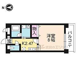 【敷金礼金0円!】京都市営烏丸線 国際会館駅 徒歩24分