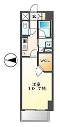 ランドハウスグランドウエスト[11階]の間取り