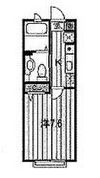 プレディオYOKOSUKA[203号室]の間取り
