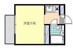 SKハイム[1階]の間取り