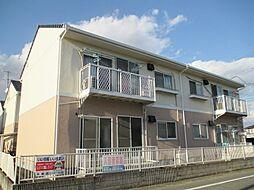 岡山県倉敷市神田4丁目の賃貸アパートの外観