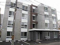 北海道札幌市東区北十五条東1丁目の賃貸マンションの外観