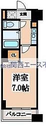 PHOENIX日本橋高津[8階]の間取り