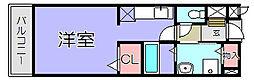 パインビレッジ162[2階]の間取り