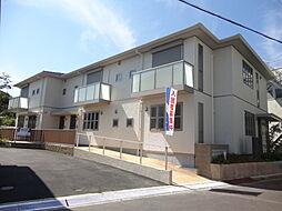 奈良県大和郡山市城北町の賃貸アパートの外観