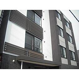 北海道札幌市中央区南二条西19丁目の賃貸マンションの外観