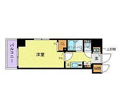 トーシンフェニックス笹塚駅前弐番館[5階]の間取り