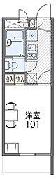 京阪本線 守口市駅 徒歩17分の賃貸マンション 3階1Kの間取り