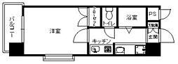 フォルム八田[2階]の間取り
