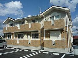 福岡県北九州市小倉南区中曽根5丁目の賃貸アパートの外観