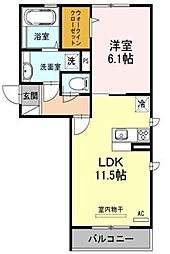 Felice Casa[2階]の間取り