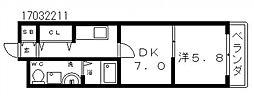 モコ05[1階]の間取り