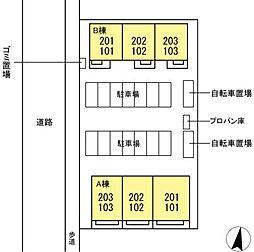 DLクレール湘南台4B [D-ROOM][1階]の間取り