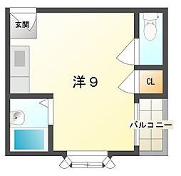 チェリッシュハウス[2階]の間取り