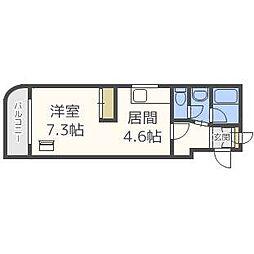 北海道札幌市南区澄川四条8丁目の賃貸マンションの間取り