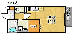 コゥジィーコートI[2階]の間取り